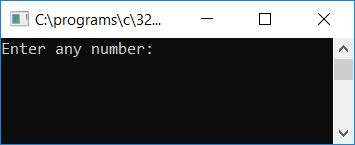 c program check perfect number