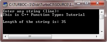 c++ built-in functions