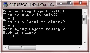 c++ objects as function arguments
