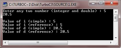 c++ references