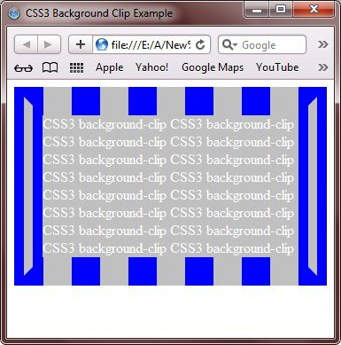 CSS3 Background Clip