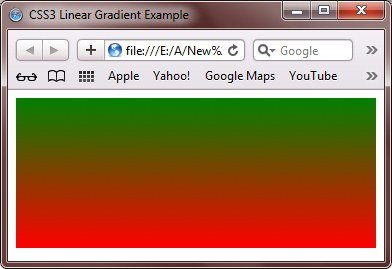 css3 linear gradient