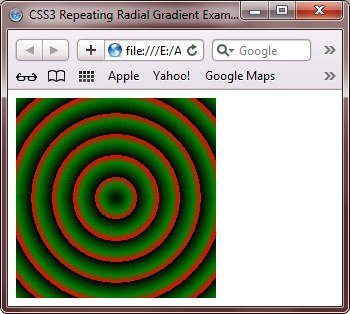 css3 repeating radial gradient