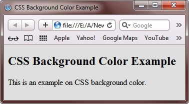 css background color