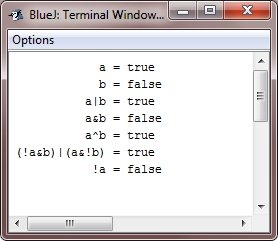 java boolean logical operators