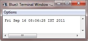 Java Date and Time