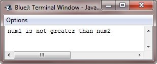 java decision making