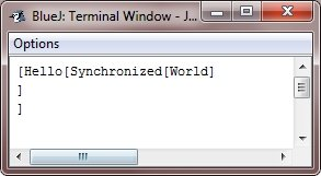 java synchronization