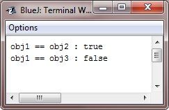 java object as parameter