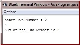 Java Program add two numbers using pointer