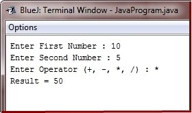 Multiplication in Java