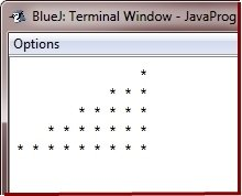 print star pattern in Java Programming