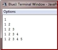 Java Program print pattern using looping