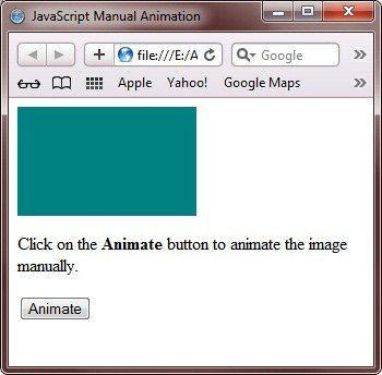 javascript animation manual