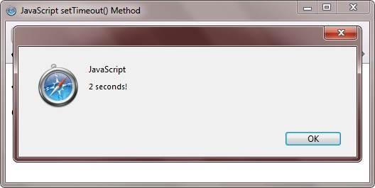 javascript settimeout method example