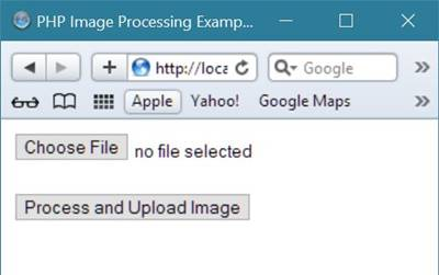 php image processing