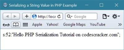 php serialization