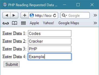 read request data php