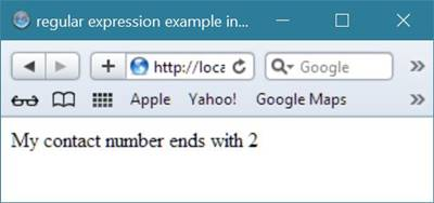 regular expression example php