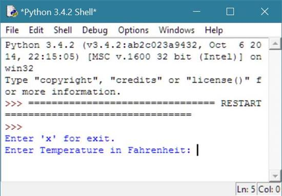 how to change temperature from fahrenheit to celsius
