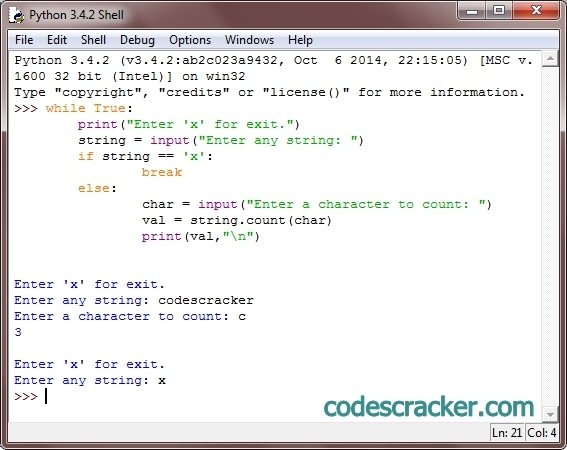 How To Count Number Of Letters In A String Java