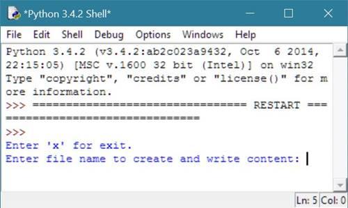 python write to a file Python file write() 方法 python file(文件) 方法 概述 write() 方法用于向文件中写入指定字符串。 在文件关闭前或缓冲区刷新前.